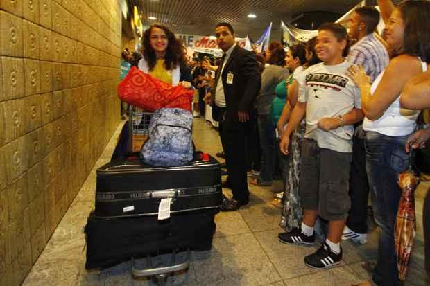 A partir desta quarta, os estudantes que foram para os Estados Unidos receberão uma bolsa mensal de R$ 719,67. Foto: Ricardo Fernandes/DP/D.A Press/Arquivo