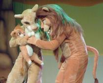 Tocante e emocionante, a Fantástica História do Rei Leão é um amado clássico adaptado para o teatro    (Cia. do Riso/Divulgação)