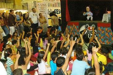 Espaço Brincadeiras de Crianças vai apresentar teatrinho de bonecos (Julio Jacobina/DP/D.A.Press)