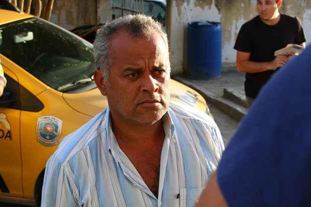 O homem, identificado como Edmacyr Cruz Ubirajara, foi reconhecido pela noiva da vítima, Mysheva Martins, que estava no carro do promotor na hora do crime. Foto: Paulo Paiva/DP/D.A Press