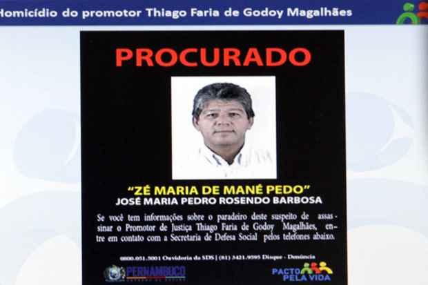 O foco da polícia neste momento é encontrar Zé Maria. Foto: Bruna Monteiro DP/D.A Press