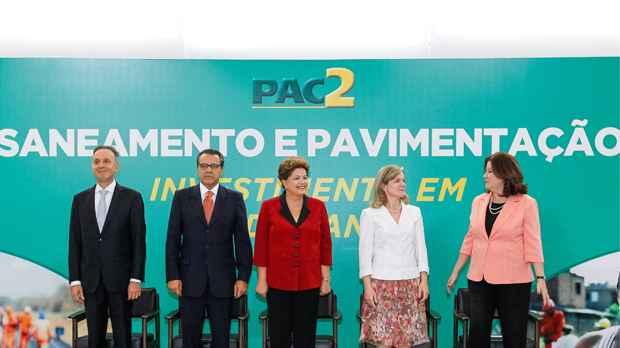 As obras fazem parte do Programa de Aceleração do Crescimento (PAC 2). Foto: Roberto Stuckert Filho/PR
