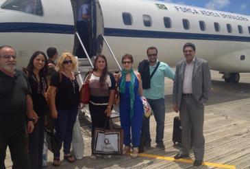 Deputado petista recepciona médicos cubanos no Recife (Reprodução)
