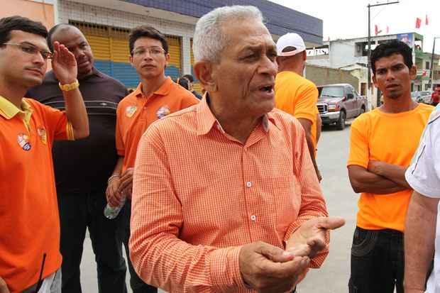 Armando Souto é eleito com 51,62% dos votos válidos, venceu a eleição de Água Preta. Foto: Edvaldo Rodrigues/DP/D.A Press