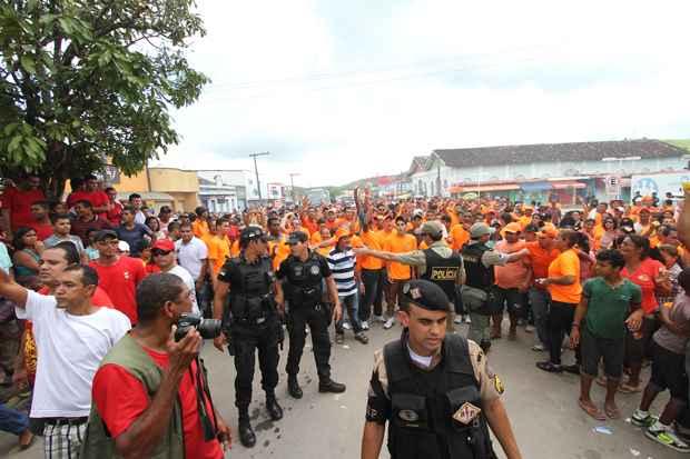Boca de urna, transporte irregular de eleitores e tumulto foram algumas das ocorrências registradas pela PF na eleição suplementar do município de Água Preta. Foto: Edvaldo Rodrigues/DP/D.A Press