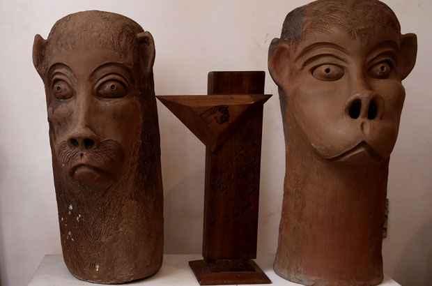 Carrancas podem ser moldadas no barro ou esculpidas na madeira. Foto: Teresa Maia/DP/D.A Press