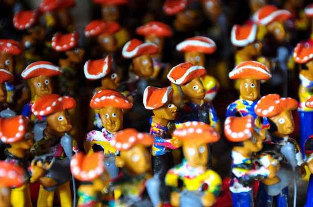 Obra de Mestre Vitalino influenciou toda uma geração de artesãos pernambucanos. Foto: Bruna Monteiro/DP/D.A Press
