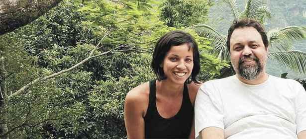 Marcelo Yuka está adorando a experiência de trabalhar com Prisci La Guedes. Foto: Arquivo Pessoal