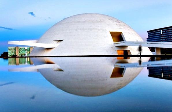 Museu Nacional da República. Foto: Andrew Prokos/Esp.CB
