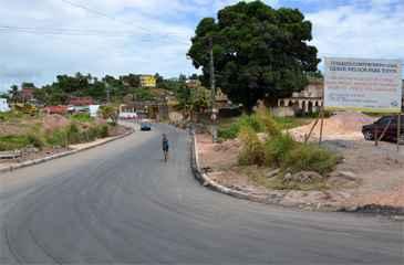 Trecho da Avenida Miguel Arraes é liberado. Foto: Prefeitura do Cabo/Divulgação