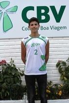 Rafael Queiroz vai representar Pernambuco na Seleção Brasileira de Volei de Praia. (Camila Lemos/Divulgação)