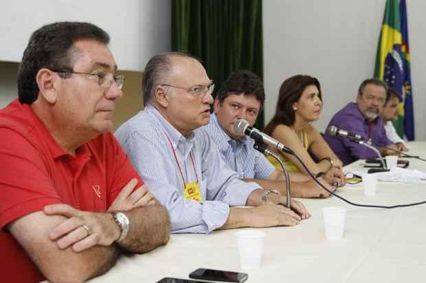 Roberto Freire esteve no evento e defendeu que o PPS apoie a candidatura do governador de Pernambuco, Eduardo Campos. Foto: Blenda Souto Maior/DP/D.A Press