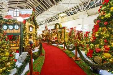 Vila do Papai Noel está pronta para receber a criançada (shopping guararapes/Divulgação)
