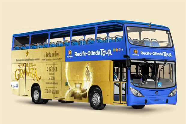 (Projeto contará com 24 paradas nas principais atrações das duas cidades. Bilhete válido por 24 horas custará R$ 45. Foto: Divulgação)