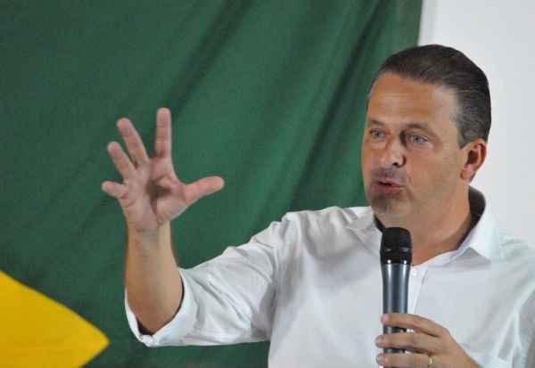 Eduardo Campos tem a aprovação de 58% dos pernambucanos. Foto: Breno Fortes/CB/D.A Press (Breno Fortes/CB/D.A Press)