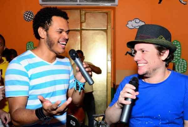 Carlos Ferrera e Victor Camarotti. Foto: Sambacool/Divulgação (Foto: Sambacool/Divulgação)
