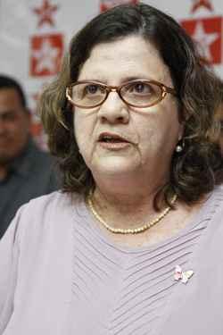 Teresa Leitão foi a vitoriosa no Processo de Eleições Diretas. Foto: Blenda Souto Maior/DP/D.A Press/Arquivo
