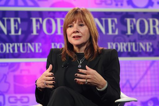 Mary Barra dirige a General Motors. Foto: Getty/AFP Paul Morigi