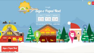 Neste Natal Papai Noel não terá sossego na entrega dos presentes (Google/Reprodução)