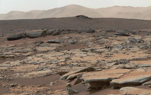 Imagens de Marte captadas pelo veículo robótico da Nasa, em 9 de dezembro de 2013. Foto: NASA/JPL-Caltech/MSSS/AFP/Arquivos HO