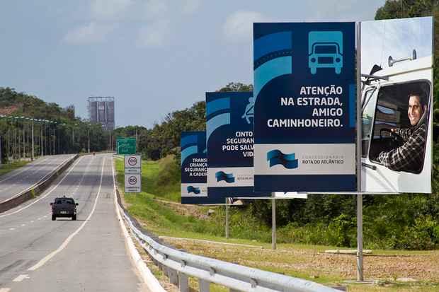 Devem circular 15 mil quil�metros por dia na rodovia / Foto: CRA/Divulga��o