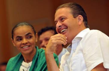 Marina Silva ser� anunciada como a vice na chapa presidencial de Eduardo Campos. Foto: Antonio Cunha/Esp. CB/D.A Press