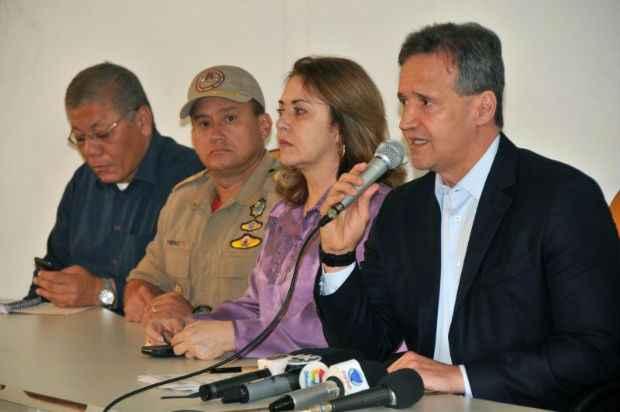 Secret�rio de seguran�a afirmou que a ordem para praticar os ataques partiu do pres�dio. Foto: Carlos Geromy/OIMP/D.A Press (Carlos Geromy/OIMP/D.A Press)