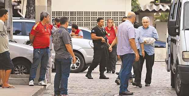 Ex-parlamentar est� preso, em Pernambuco, desde o dia 27 de dezembro, quando foi transferido de Bras�lia. Foto: Annaclarice de Almeida/DP/D.A. Press