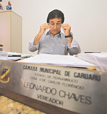 Leonardo Chaves encaminhou relat�rio para o MPPE. Foto: Annaclarice Almeida/DP/D.A. Press