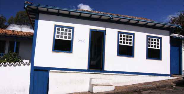 Ex-presidente brasileiro viveu no im�vel at� os 13 anos. Atualmente, casa abriga um museu. Foto: Marcos Michelin/EM/D.A. Press