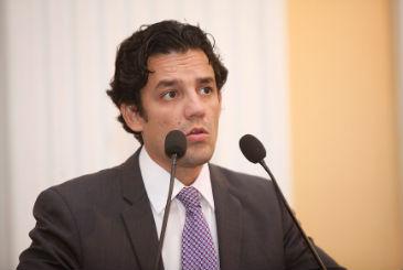 Daniel Coelho ainda permanece como l�der oposicionista, apesar de seu partido apoiar o governo Eduardo Campos. Foto: Roberto Soares/Assembleia Legislativa (Roberto Soares/Assembleia Legislativa)