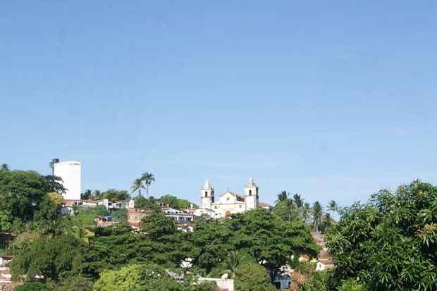 A Igreja da Sé vista da parte de trás do Mercado da Ribeira.Todas as fotos desta matéria são de Camila Almeida/ DP/ D.A Press