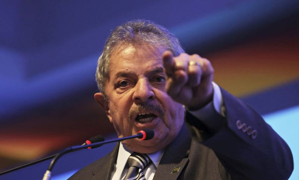 O ex-presidente participou de reuni�o no Pal�cio da Alvorada na segunda foto: Nacho Doce/Reuters   (Nacho Doce/Reuters )