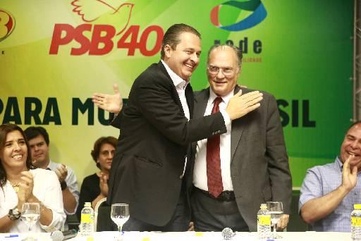 Alian�a entre Eduardo (PSB) e Roberto Freire (PPS) precisa acertar alguns detalhes foto: Bernardo Dantas/DP/D.A PRESS (Bernardo Dantas/DP/D.A PRESS)