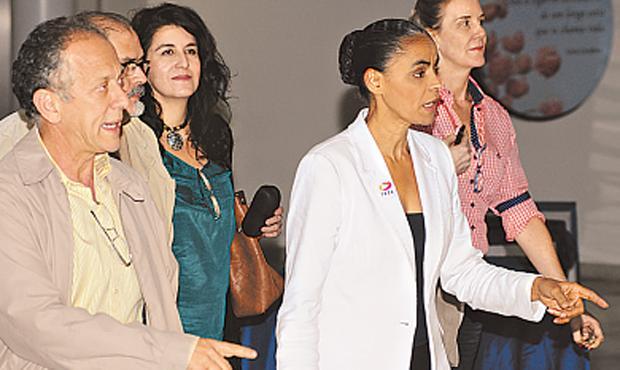 Grupo ligado a Marina Silva pede rompimento de parceria foto: Carlos Moura/CB/D.A PRESS (Carlos Moura/CB/D.A PRESS)