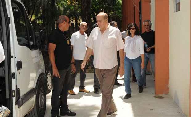 O ex-deputado condenado no processo do mensal�o receber� agora um sal�rio m�nimo, de R$ 724, do qual 25% ser�o de pec�lio foto: Gladyston Rodrigues/EM/D.A.Press (Gladyston Rodrigues/EM/D.A.Press)