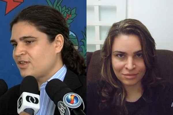 Foto antes e depois mostra a mudan�a de visual da delegada Laura foto: DM/Reprodu��o Reprodu��o/Facebook  (DM/Reprodu��o Reprodu��o/Facebook )