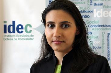 Veridiana Alimonti, do Idec, diz que fideliza��o s� pode ser aplicada se houver benef�cio para o consumidor. Foto: Divulga��o