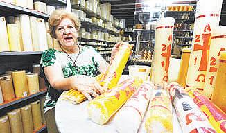 N�o h� nada de sazonal nesse mercado, avalia Nilse Helena, h� 40 anos no ramo. Foto: Euler J�nior/EM/D.A Press