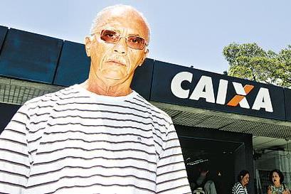 Mois�s Silva ganhou indeniza��o de R$ 4 mil depois de esperar mais de duas horas na fila (Alcione Ferreira/DP/D.A Press)