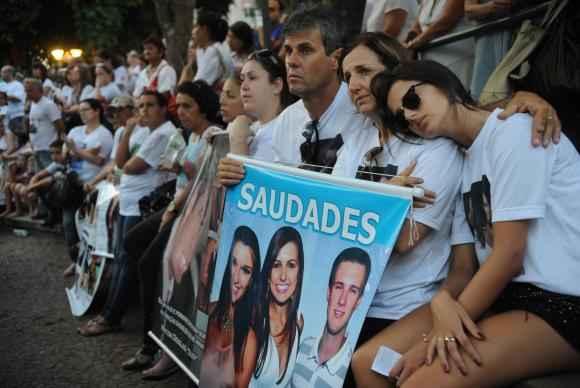 Ato ecum�nico em homenagem �s 242 v�timas do inc�ndio da Boate Kiss marcaram o encerramento do 1� Congresso Internacional Novos Caminhos (Fernando Fraz�o/Ag�ncia Brasil)