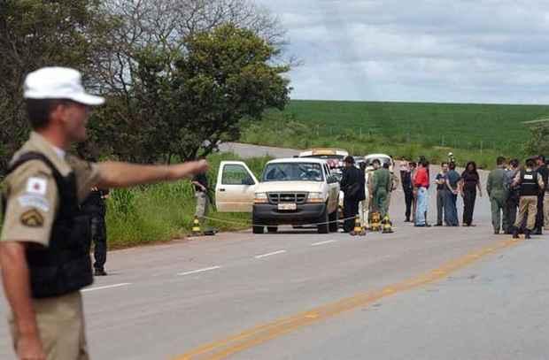Os auditores fiscais do trabalho morreram em emboscada durante fiscaliza��o na zona rural de Una� fotos: Carlos Vieira/CB/D.A Press  (Carlos Vieira/CB/D.A Press )