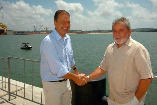 Ambos se emocionaram ao comentarem que Miguel nasceu com S�ndrome de Down foto: Roberto Pereira/SEI  (Roberto Pereira/SEI)