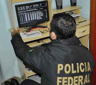 Polícia Federal apreendeu computador para analisar conteúdo suspeito de racismo (Polícia Federal em Pernambuco /Divulgação)