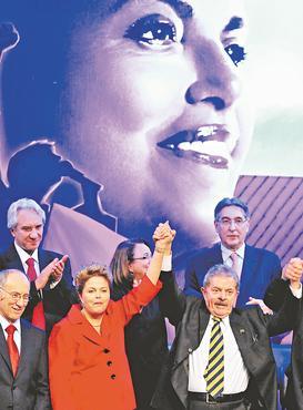 Petistas far�o ato para lan�ar a pr�-candidatura de Dilma � reelei��o no dia 10 deste m�s foto: Alexandre Guzanshe/EM/D.A PRESS (Alexandre Guzanshe/EM/D.A PRESS)