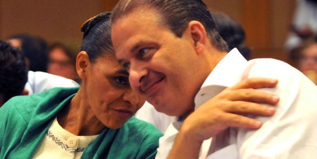 Marina Silva e Eduardo Campos prometem para esta ter�a-feira as bases para um programa de governo. Foto: Antonio Cunha/Esp. CB/D.A Press (Antonio Cunha/Esp. CB/D.A Press)