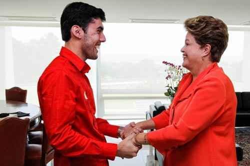 Personagem ganhou aten��o at� mesmo da presidente Dilma foto: Roberto Stuckert Filho/PR (Roberto Stuckert Filho/PR)