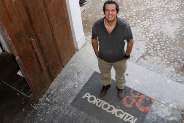 O diretor-presidente do Porto Digital, Francisco Saboya, diz que a previs�o � de que 2,5 mil pessoas participem da programa��o. Foto: Ricardo Fernandes/DP/D.A Press