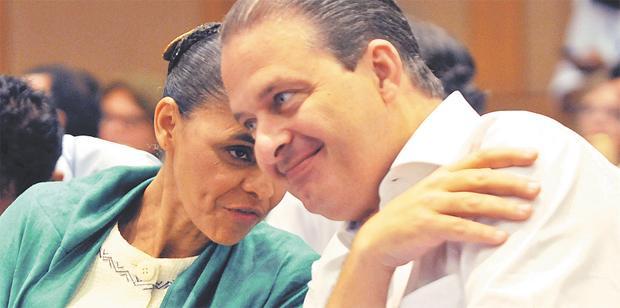 Marina e Eduardo ter�o que chegar a um consenso sobre alian�as no Sudeste foto: Antonio Cunha/ESP. CB/D.A PRESS (Antonio Cunha/ESP. CB/D.A PRESS)