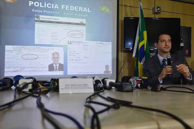 Pizzolato foi preso pela Pol�cia Federal na manh� da quarta-feira 5. Foto: Valter Campanato/Ag�ncia Brasil